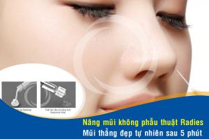 Nâng mũi không phẫu thuật có biến chứng không?