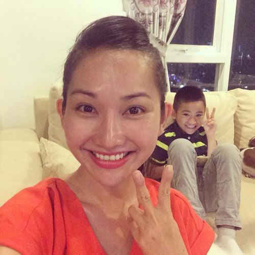 Kim Hiền hài lòng với hình ảnh mới của mình