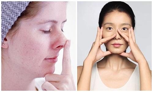 Nâng mũi cao hơn nhờ chăm chỉ massage