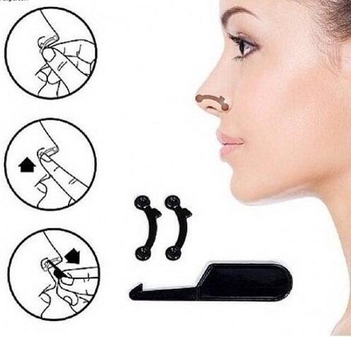 Sự thật về dụng cụ kẹp nâng mũi tại nhà