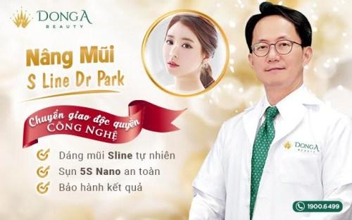 Nâng mũi S Line Dr. Park độc quyền tại TMV Đông Á