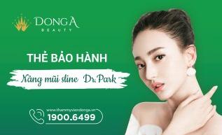 Thẻ bảo hành nâng mũi Dr Park
