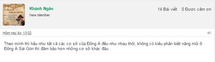 nâng mũi ở Sài Gòn