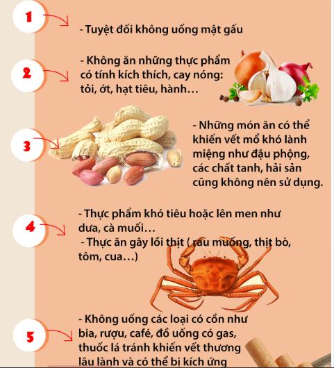 Những thực phẩm bạn cần kiêng sau phẫu thuật nâng mũi