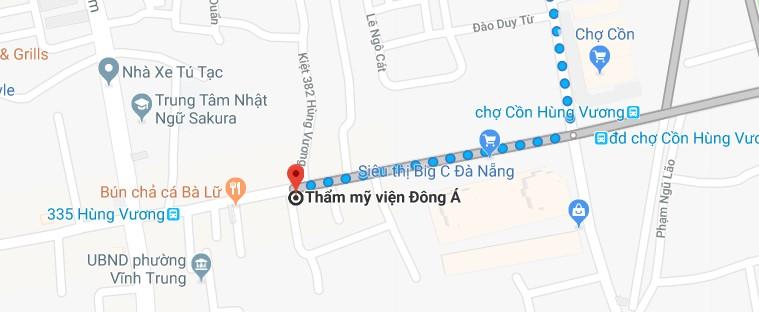 Nang mui o Da Nang