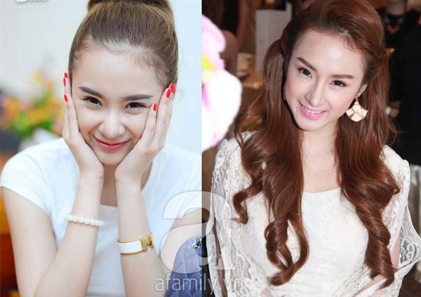 Dáng mũi S Line đã giúp cho Angela Phương Trinh trở nên sắc sảo hơn