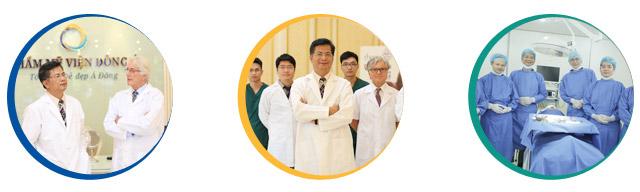 Đội ngũ bác sĩ chuyên khoa giàu kinh nghiệm sẽ tiến hành khéo léo dịch vụ này
