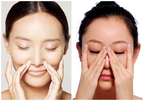 Massage mũi để giúp mũi đẹp hơn mỗi ngày