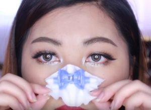 Review cách làm đẹp với kẹp mũi Nhật Bản