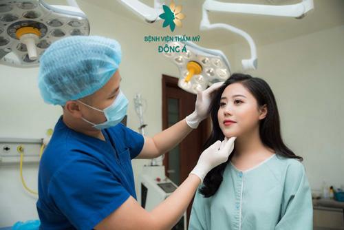 kiểm tra ngay khi bị kéo măt sau nâng mũi